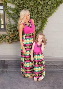 2016 Anne Kız Modası 9