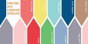 2016 Yazının Moda Renkleri