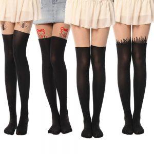 Dövmeli Çorap Modası kapak