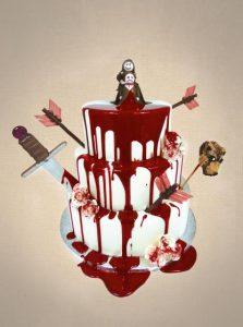 Kanlı Düğün Pastası