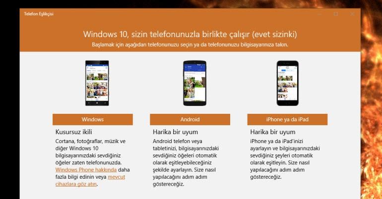 Telefonumu Windows 10 Nasıl Bağlarım 1
