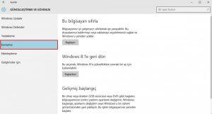 windows10-eski-sisteme-donme