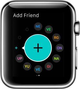 Apple-watchda-arkadas-ekleme