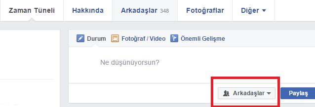 Facebook Arkadaş Listesi Nasıl Gizlenir 1