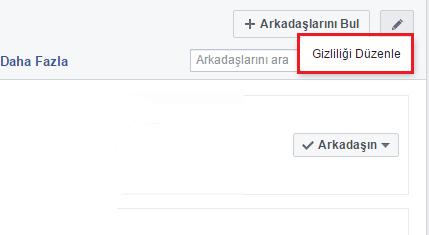 Facebook Arkadaş Listesi Nasıl Gizlenir 2