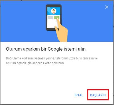 Google'a Şifre Kullanmadan Telefonla Nasıl Giriş Yapılır 3