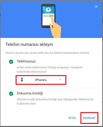 Google'a Şifre Kullanmadan Telefonla Nasıl Giriş Yapılır 4