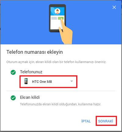 Google'a Şifre Kullanmadan Telefonla Nasıl Giriş Yapılır 5