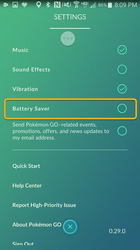 Pokemon GO Uygulamasında Batarya Tasarrufu Nasıl Yapılır 1