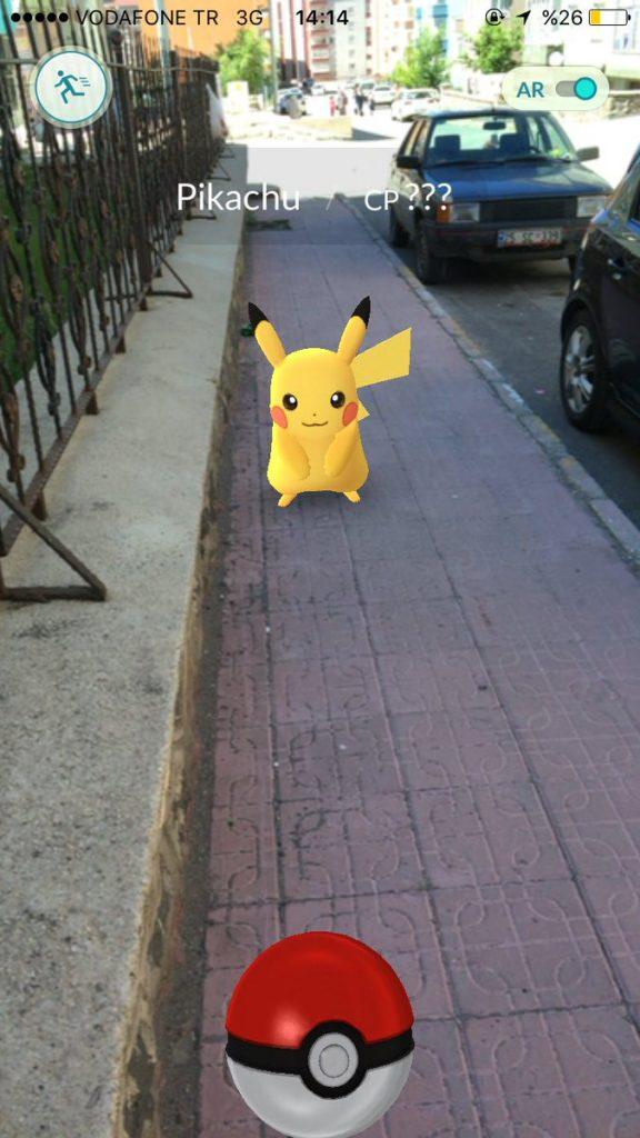 Pokemon GO'da Pikachu Nasıl Yakalanır 1