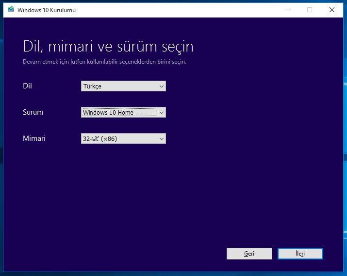 USB Bellekten Üzerinde Windows 10 Nasıl Yüklenir 2