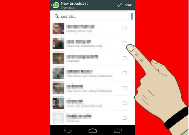 WhatsApp ile Toplu Mesaj Gönderme işlemi Nasıl Yapılır 4