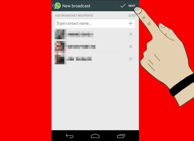 WhatsApp ile Toplu Mesaj Gönderme işlemi Nasıl Yapılır 5