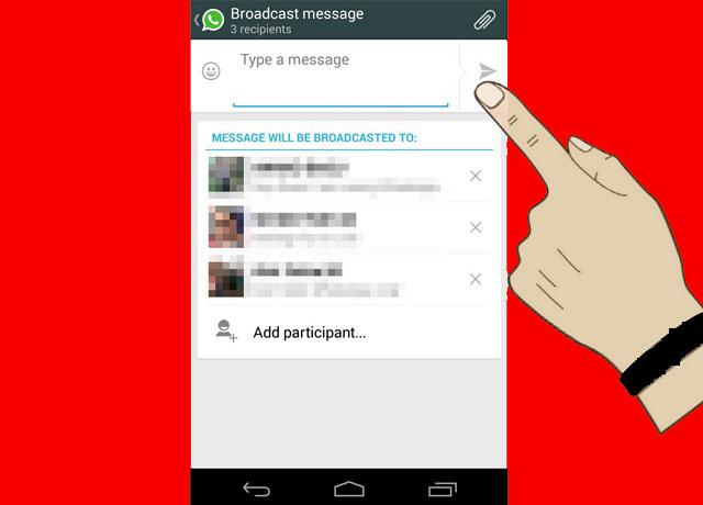 WhatsApp ile Toplu Mesaj Gönderme işlemi Nasıl Yapılır 7
