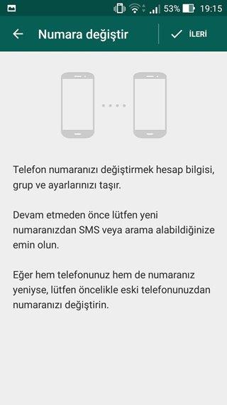 WhatsApp'ta Numara Nasıl Değiştirilir 1