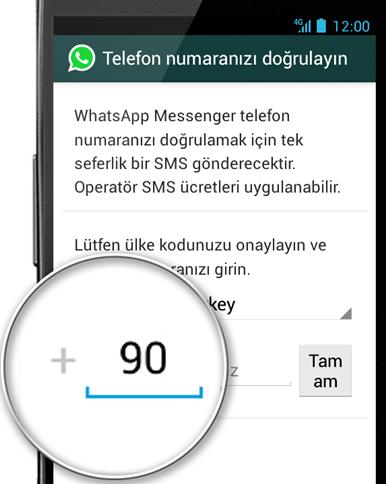 WhatsApp'ta Numara Nasıl Değiştirilir