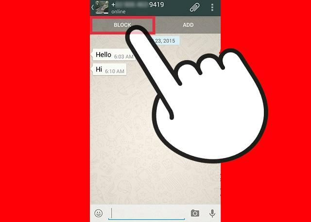 Whatsapp Kişileri Nasıl Engellenir 6