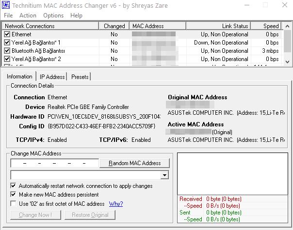 Windows 10 İşletim Sisteminde MAC Adresi Nasıl Değiştirilir 5