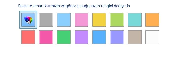 Windows 10 Görev Çubuğu Rengi Nasıl Değiştirilir 3