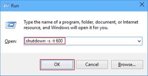 Windows 10 Otomatik Olarak Nasıl Kapanır 1