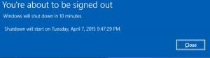 Windows 10 Otomatik Olarak Nasıl Kapanır 2