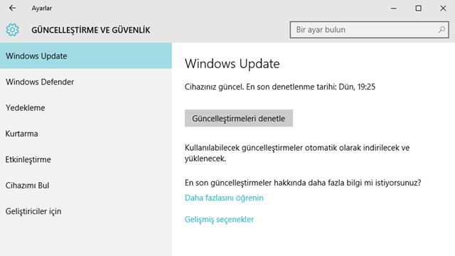 Windows 10 Sürüm Numarasına Nasıl Bakılır 3
