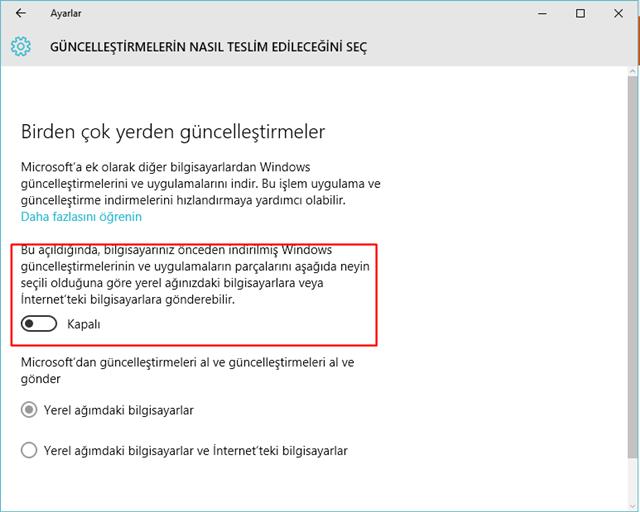Windows 10'da Devre Dışı Bırakabilecek Özellikler Nelerdir 1
