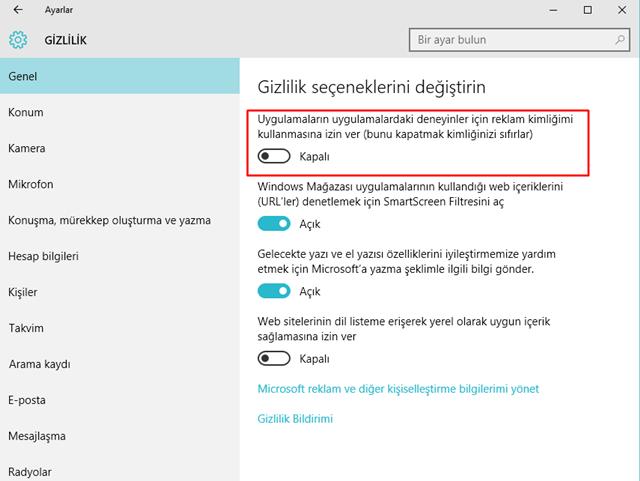 Windows 10'da Devre Dışı Bırakabilecek Özellikler Nelerdir 4
