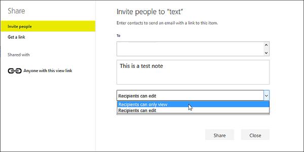 Windows 10'da OneDrive Dosya Paylaşımı Nasıl Yapılır 3