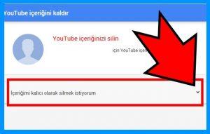 Youtube Hesap Kalıcı Olarak Nasıl Silinir 6