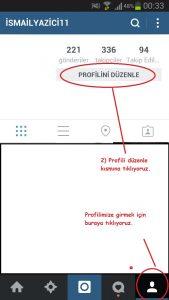 instagramprofildegistirme