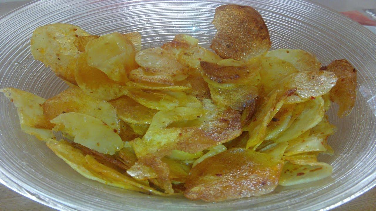 Evde Patates Cipsi Nasıl Yapılır